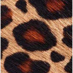 Genuine Calf Hair Leopard Print Belt | Nordstrom