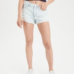 High-Waisted Denim Festival Midi Short | American Eagle Outfitters (US & CA)