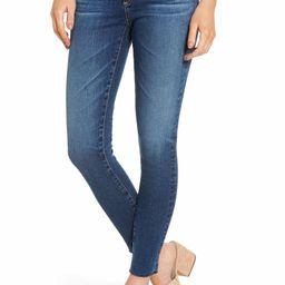 The Legging Raw Hem Ankle Skinny Jeans   Nordstrom