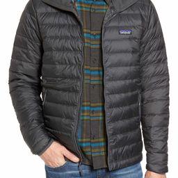 Packable Windproof & Water Resistant Goose Down Sweater Hooded Jacket | Nordstrom