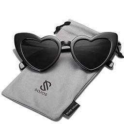 SOJOS Heart Shaped Sunglasses Clout Goggle Vintage Cat Eye Mod Style Retro Glasses Kurt Cobain   Amazon (US)