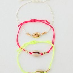AEO Neon Shell Bracelet 3-Pack   American Eagle Outfitters (US & CA)