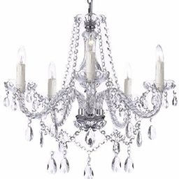 Saint Mossi Modern Contemporary Elegant K9 Crystal Glass Chandelier Pendant Ceiling Lighting Fixt... | Amazon (US)