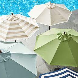 Round Outdoor Umbrella | Pottery Barn (US)