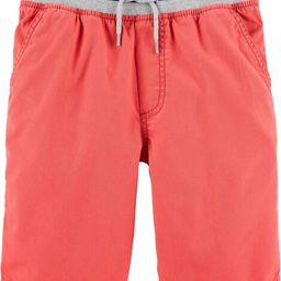 Pull-On Canvas Shorts | OshKosh B'gosh