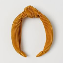 Hairband with Knot Detail - Yellow - Ladies | H&M US | H&M (US)