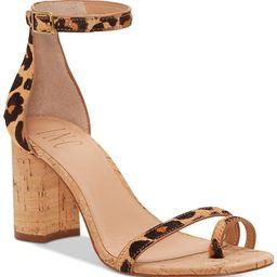 INC International Concepts I.N.C. Women's Wanada Toe-Ring Block-Heel Sandals, Created for Macy's ... | Macys (US)