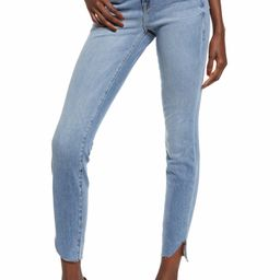 Good Legs High Waist Cascade Hem Skinny Jeans | Nordstrom