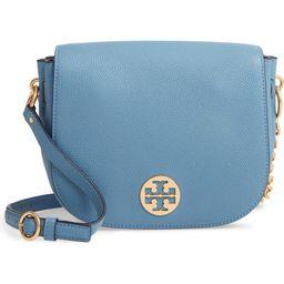 Everly Leather Flap Saddle Bag | Nordstrom