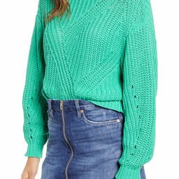 Traveling Stitch Sweater   Nordstrom