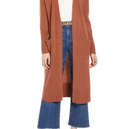 Wool & Cashmere Long Cardigan   Nordstrom