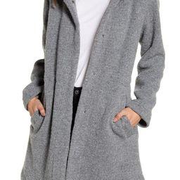 Hooded Rib Coat   Nordstrom