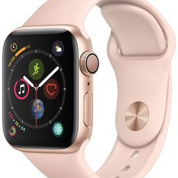 Apple Watch Series 4 AppleWatch Series4 GPS, 40mm Gold Aluminum Case with Pink Sand Sport Ban...   Macys (US)