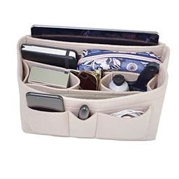 Handbag Organizer - 2in1 Bag Purse Tote Insert with Waterproof Pocket | Amazon (US)