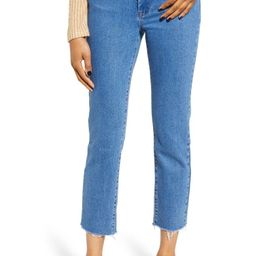The Madison Straight Leg Crop Jeans | Nordstrom