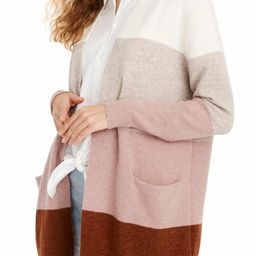 Madewell Ryder Stripe Cardigan Sweater   Nordstrom   Nordstrom