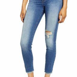 Ellie Ripped High Waist Skinny Jeans   Nordstrom