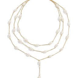 Abriella Freshwater Pearl Layered Y-Necklace   Nordstrom