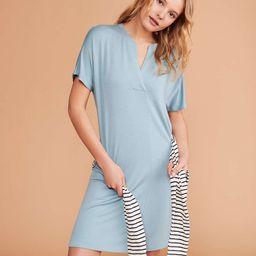 Signaturesoft Split Neck Dress | LOFT