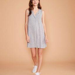 Lou & Grey Split Neck Swing Dress | LOFT