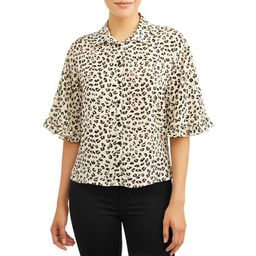 Women's Casual Summer Button Blouse   Walmart (US)