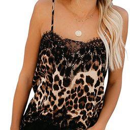 Dcharme Women Cami Tank Tops Spaghetti Strap Camisole Tops Sleeveless Blouses Shirts   Amazon (US)