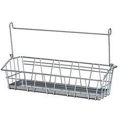Ikea Steel Wire Basket 900.726.48, Silver | Amazon (US)