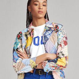 Patchwork Zip Jacket   Ralph Lauren (US)