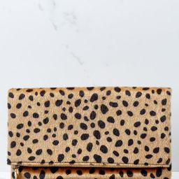 Concrete Jungle Cheetah Print Clutch   Red Dress