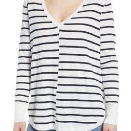 High-Low V-neck Sweater | Nordstrom
