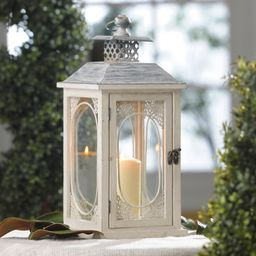 Antiqued Cream Lantern | Kirklands | Kirkland's Home