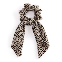 Leopard Print Bow Hair Scrunchie   Kohl's