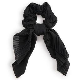 Solid Black Bow Scrunchie   Kohl's