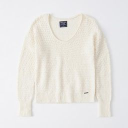 Slouchy Scoopneck Sweater   Abercrombie & Fitch US & UK