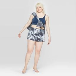 Women's Plus Size Lounge Pajama Shorts - Colsie™ Navy | Target