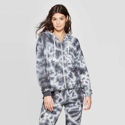 Women's Lounge Hooded Sleep Sweatshirt - Colsie™ Navy | Target