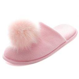 Women's Slippers Comfort Cozy Velvet Memory Foam Pom Slippers Cute Puffer Ball Home Slippers   Amazon (US)