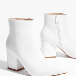 White Here Ankle Boots | NastyGal (US & CA)
