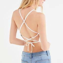 UO Mara Strappy Tie-Back Cami | Urban Outfitters (US and RoW)