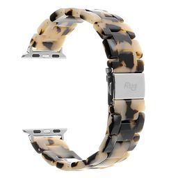 Resin Watch Band,FIANO Fashion Replacement Wristband Strap Compatible with Apple iWatch Series 4/...   Amazon (US)