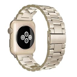Simpeak Stainless Steel Band Strap Compatible Apple Watch 38mm 40mm Series 1 Series 2 Series 3 Ap...   Amazon (US)