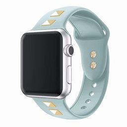 Clatune Bling Studs Soft Silicone Band Strap Stylish Rivet Replacement Wristband Sport Bracelet C...   Amazon (US)
