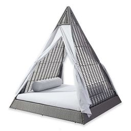 Zuo® Modern Albany Outdoor Daybed in Grey/Light Grey   Bed Bath & Beyond