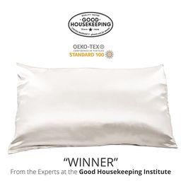 Fishers Finery 25mm Luxury 100% Pure Mulberry Silk Pillowcase Good Housekeeping Winner   Amazon (US)