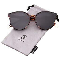 SOJOS Fashion Round Sunglasses for Women Men Oversized Vintage Shades SJ2057   Amazon (US)