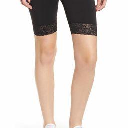 Lace Trim Biker Shorts | Nordstrom