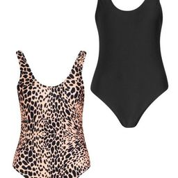 2 Pack Swimsuit | Boohoo.com (US & CA)