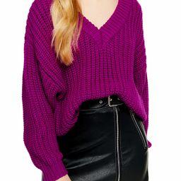 Oversize V-Neck Sweater | Nordstrom