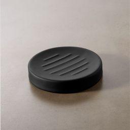 Rubber Coated Black Soap Dish + Reviews | CB2 | CB2
