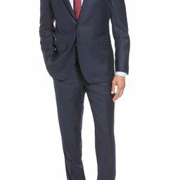 Jones Trim Fit Solid Wool Suit   Nordstrom